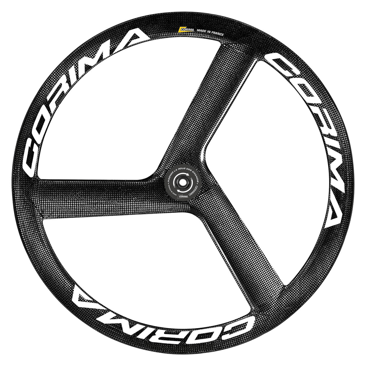 Front CORIMA 3 spoke Sont CORIMA 3 spoke S Dx